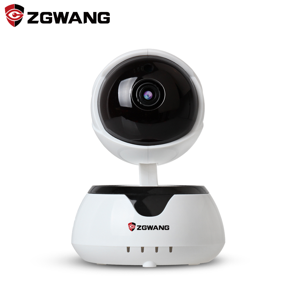 ZGWANG IP Camera Wifi Security Camera 720P Indoor Network Wireless Baby Monitor Wi-fi Night Vision CCTV Camera SD Card Audio new wireless remote control baby monitor with night vision intercom voice wifi network ip camera electronic for smart phone