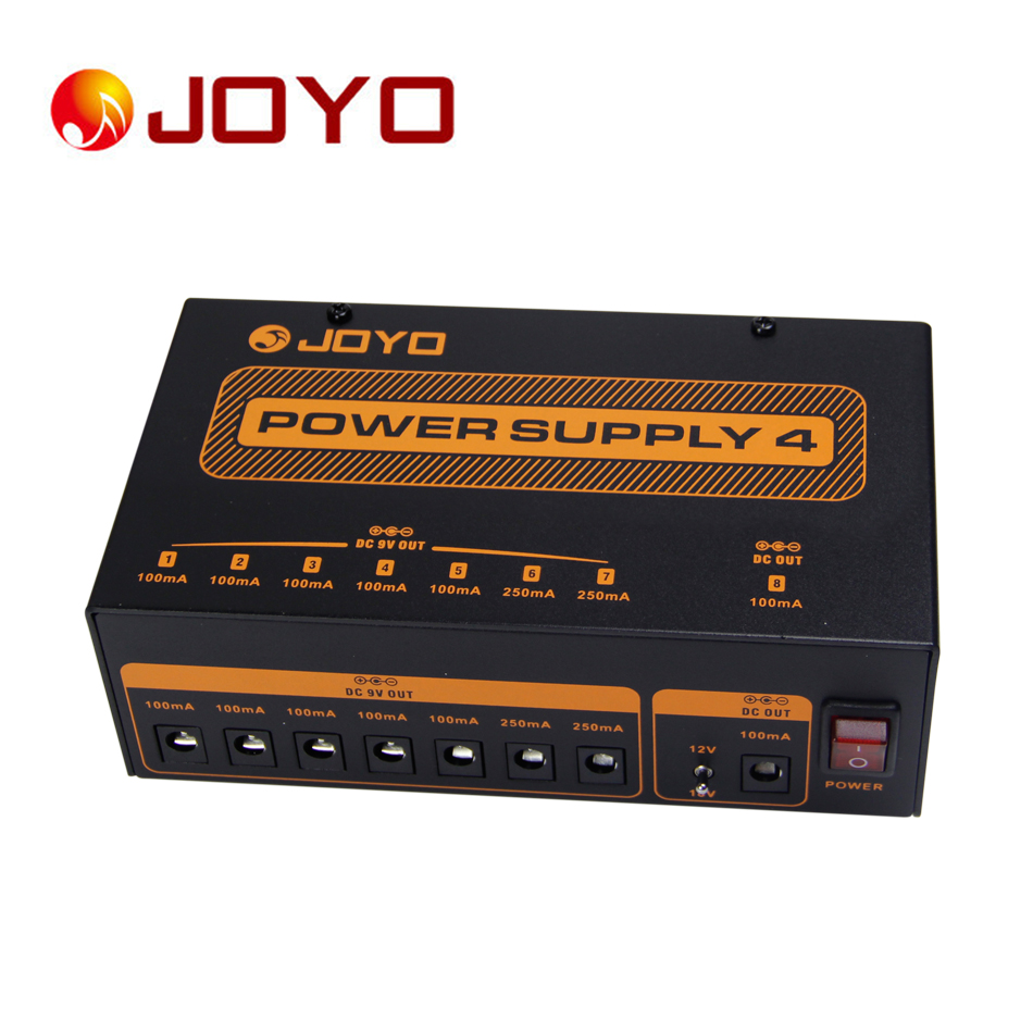 Guitar accessories JOYO  JP-04 Provide stable 100mA/250mA DC Multi - Power Supply  AU/EU/UK/US Standard Plug