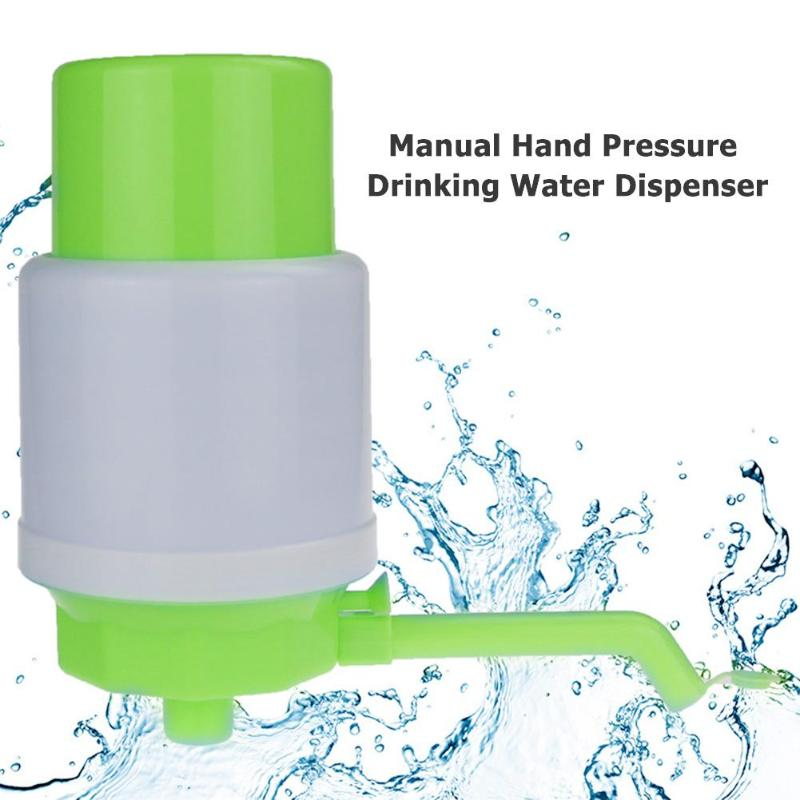 Manual Hand Pressure Drinking Water Dispenser Plastic Water Bottle Pump Water Dispenser Water Treatment Appliances