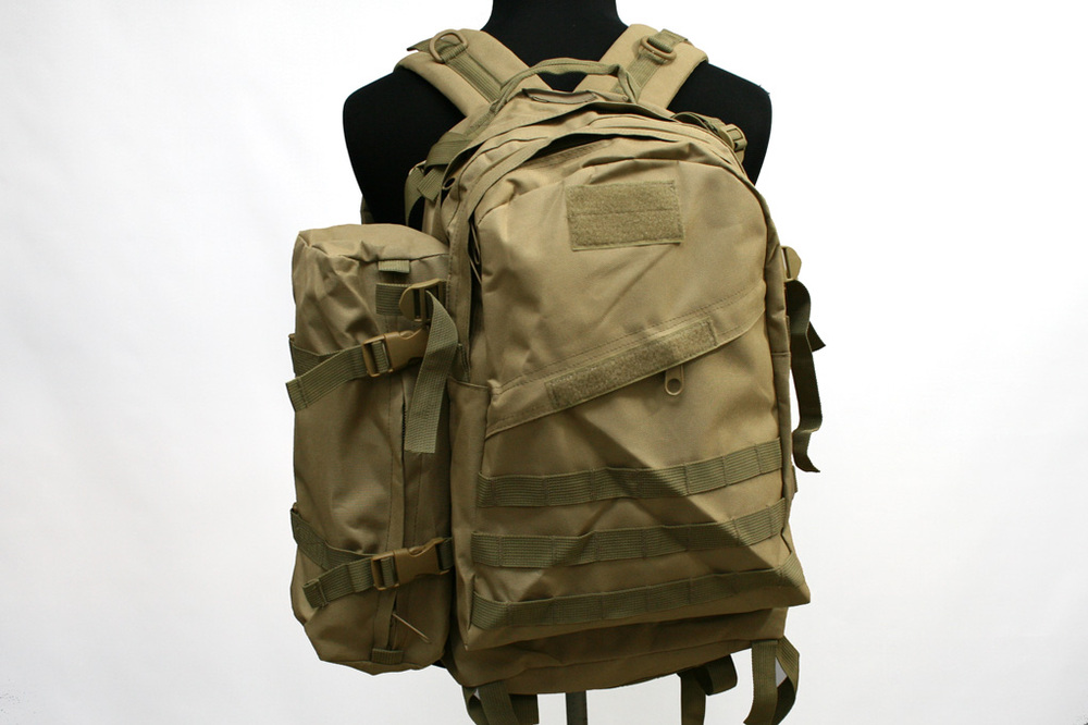 Outdoor Military Tactical Backpack Usmc 3d+1 Assault Backpack Bag Multicam cg-03-cp Sports & Entertainment