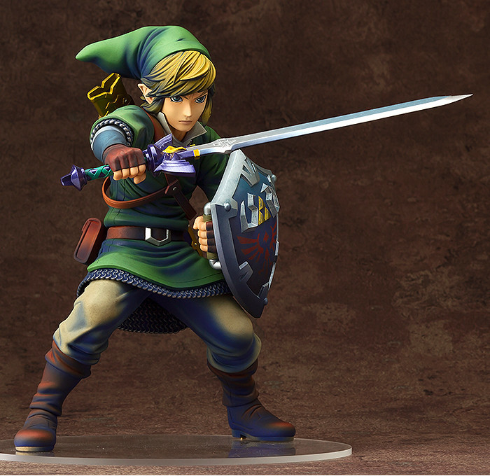 The Legend of Zelda Link PVC Action Figures Collectible Model Toys the legend of zelda breath of the wild link statue pvc painted figure collectible model toy 10inch