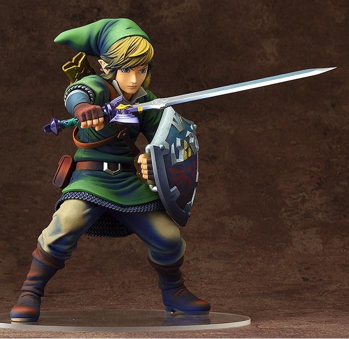 The Legend of Zelda Link PVC Action Figures Collectible Model Toys черепаха плетёная zelda