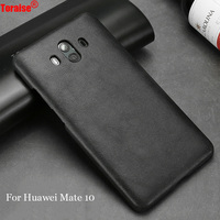 Toraise For Huawei Mate 10 Case Genuine Leather Vintage Back Cover Case For Huawei Mate 10