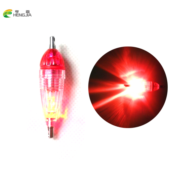 hengjia Mini LED Deep Drop Underwater Fishing Squid Fish Lure Light Green Flashing Lamp