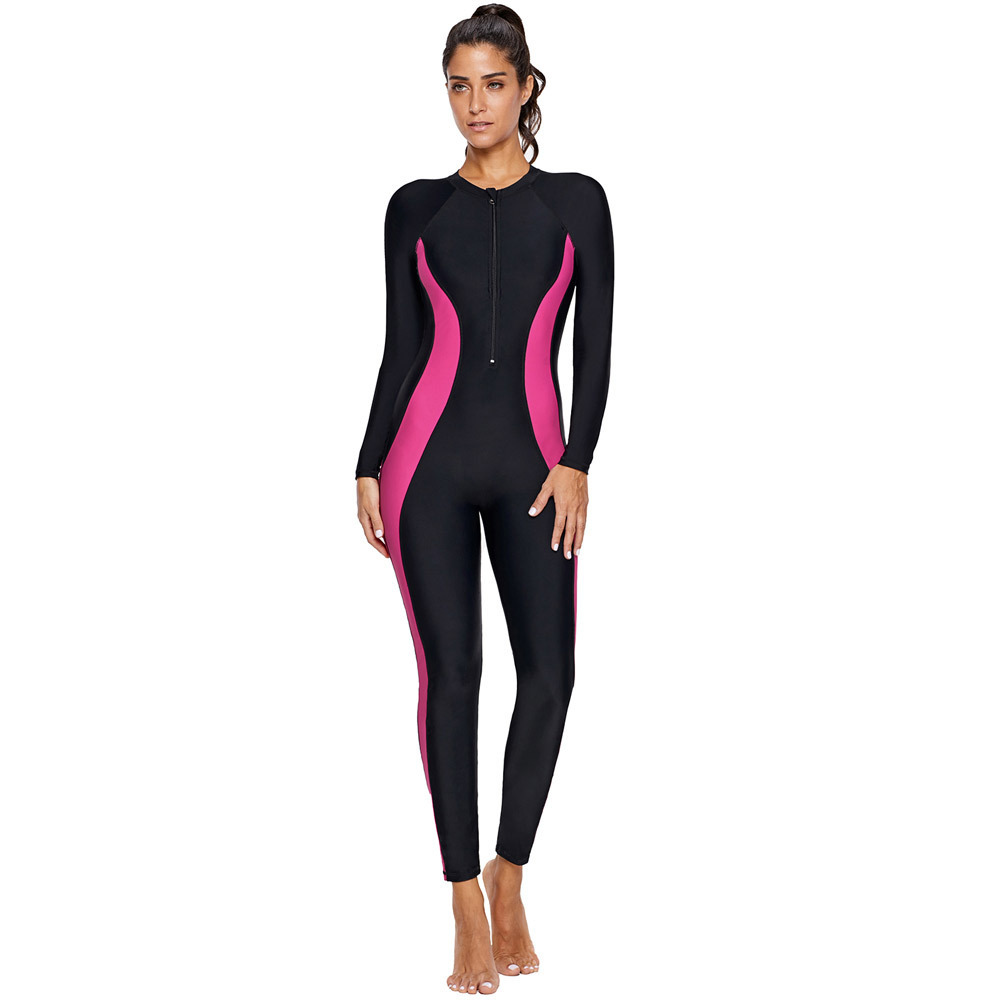 New Spring/summer 2019, Full Body Sunscreen, Long Sleeve Jumpsuit, Jellyfish Suit Snorkeling, Surfing, Diving