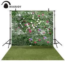 Allenjoy 写真撮影の背景ガーデンツタ草の花写真背景写真スタジオ資金