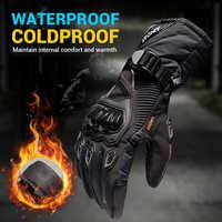Suomie Moto gants hommes 100% imperméable coupe-vent hiver Moto gants Moto Guantes écran tactile Gant Moto gants d'équitation