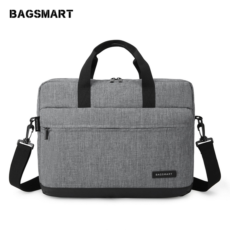 BAGSMART új férfi 15,6 hüvelykes laptop táska táska táska - Aktatáskák