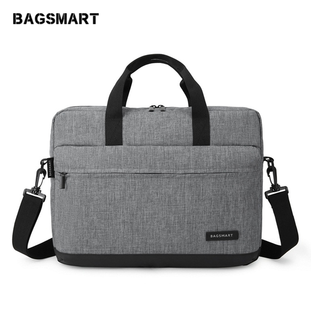 BAGSMART New Men 15.6 Inch Laptop Briefcase Bag Handbag Mens Nylon Briefcase Men's Office Bags Business Computer Bags