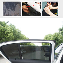 2 Pcs 72X52CM Auto Supplies Sun Block Sun-shading Stickers Car Styling Car Sunshade Electrostatic Stickers(China)