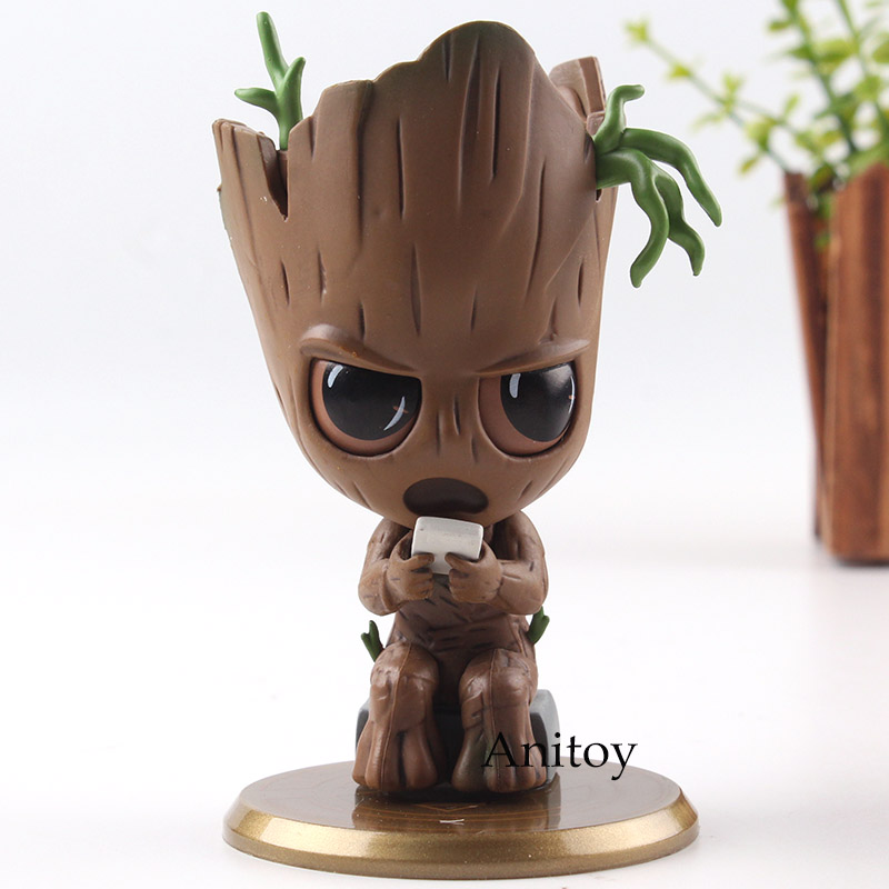 marvel-font-b-avengers-b-font-infinity-war-cosbaby-tree-man-baby-bobble-head-doll-pvc-figures-car-home-decoration-collection-model-toy-10cm