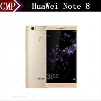 "Original HuaWei Honor Note 8 4G LTE Mobile Phone Kirin 955 Octa Core Android 6.0 6.6"" 2K 2560X1440 4GB RAM 128GB ROM Fingerprint"