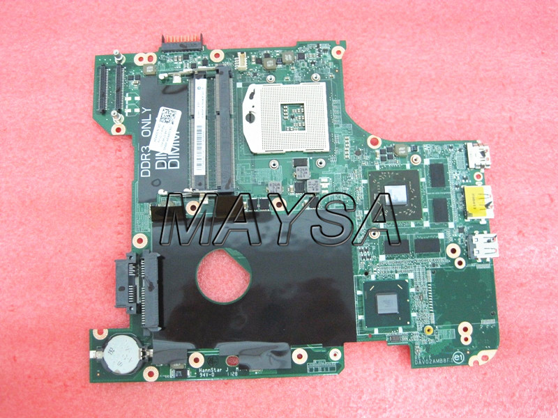 купить 0FR3M 00FR3M System Board Fit Fit For DELL INSPIRON 14R N4110 Socket PGA 988 Laptop Motherboard , 100% working