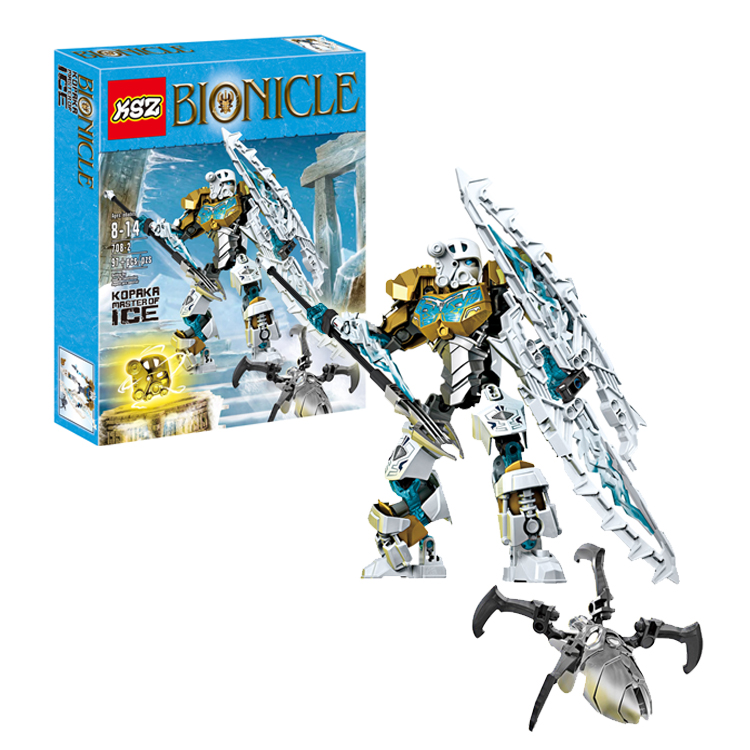 Bionicle Series Kopaka Master of Ice Onua Earth Action Figure Building Block Brick Toys Compatible With Legoings 70788