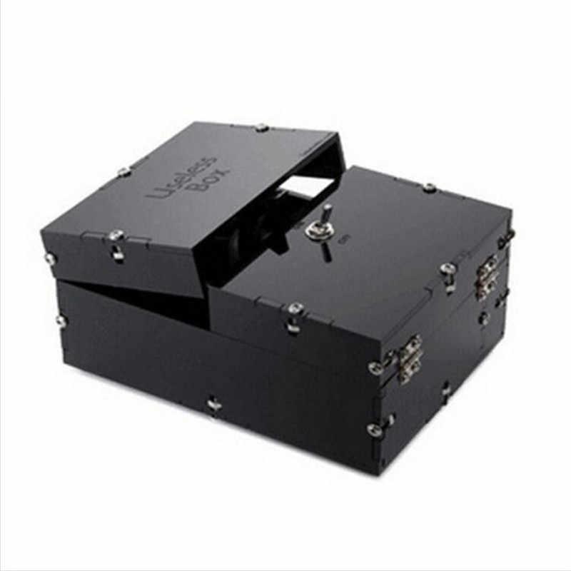2018 креативная черная бесполезная коробка приколы, розыгрышки Забавные игрушки оставьте меня в одиночной коробке подарки для подружки