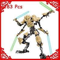 KSZ 714 Star Wars 7 General Grievous Storm Trooper 183Pcs Building Block Educational Construction Assemble Toys