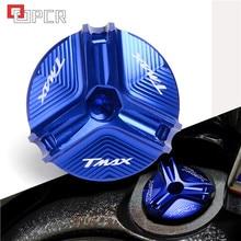Para tmax 530 500 TMAX-530 tmax530 tmax500 acessórios da motocicleta cnc tampa de óleo do motor parafuso