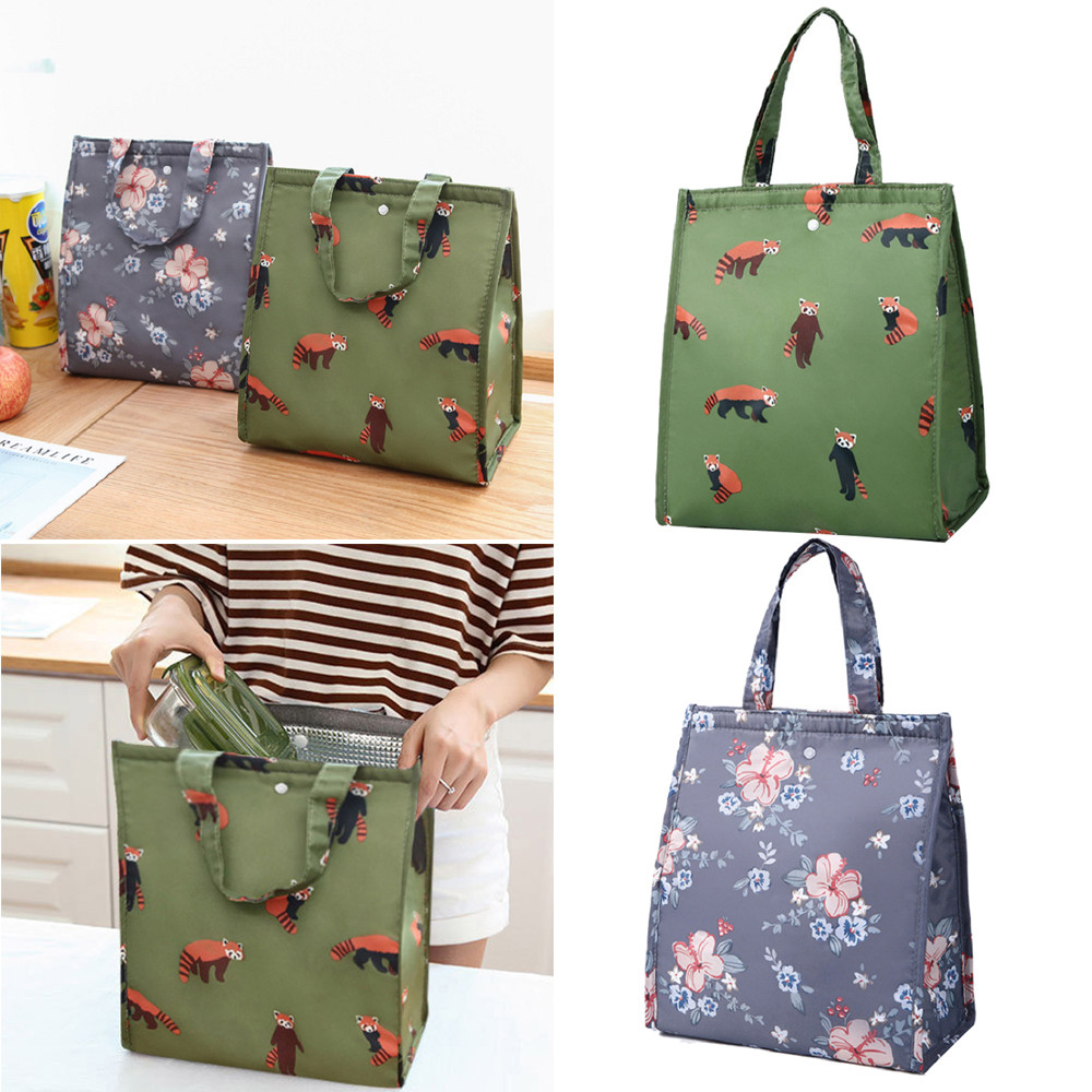 New Waterproof Special Thermal Insulation Storage Tote Portable Insulated Lunch Box Pouch Cooler Oxford Cloth Food Bag