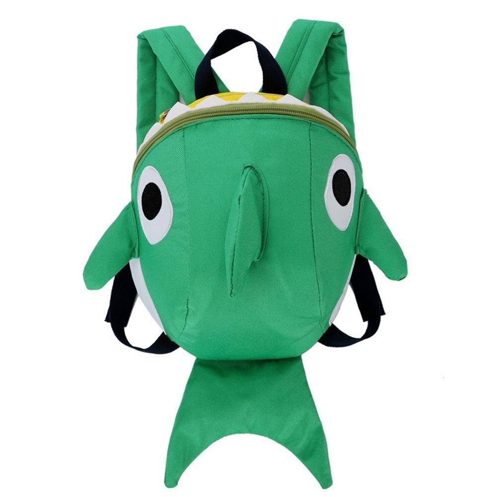 3d Kinder Tasche Kinder Schule Taschen Schule Taschen Mädchen Jungen Monster Cartoon Shark Kinder Rucksack Anti-verloren Kind Rucksack Erfrischend Und Wohltuend FüR Die Augen
