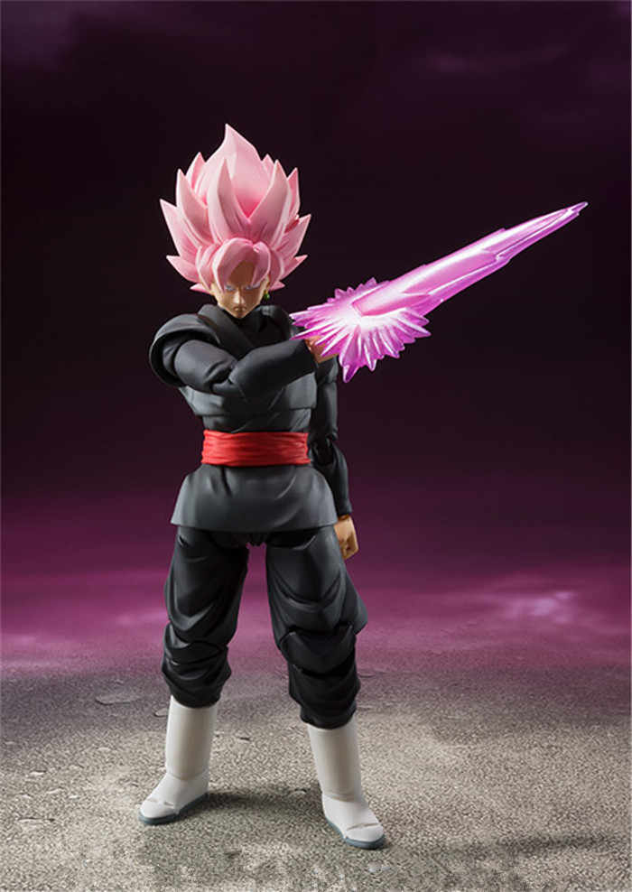 DragonBall Z Super Black Rose DBS Zamasu SHFiguarts SHF Goku PVC Figura Coleção Toy Modelo Toy Presente 14 cm