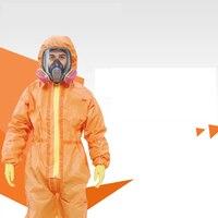 B1N74-B1N90 3 메터 보호 의류 효과적인 보호 먼지 유해 입자 차단 화학 액체