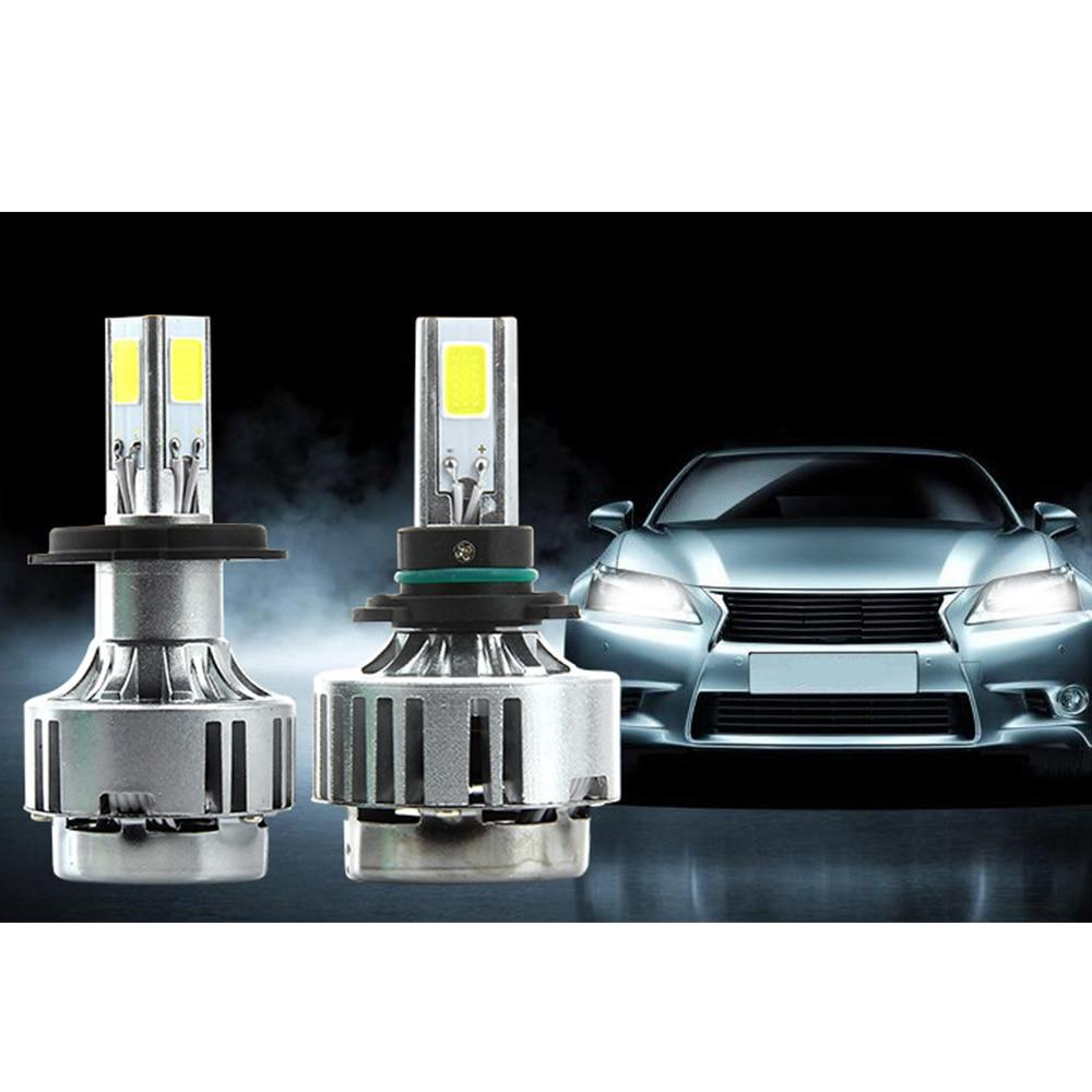 H7 LED Car Headlight Bulbs 6000LM Car Head Lamp Plug Play Kit Auto Replacement Parts H8