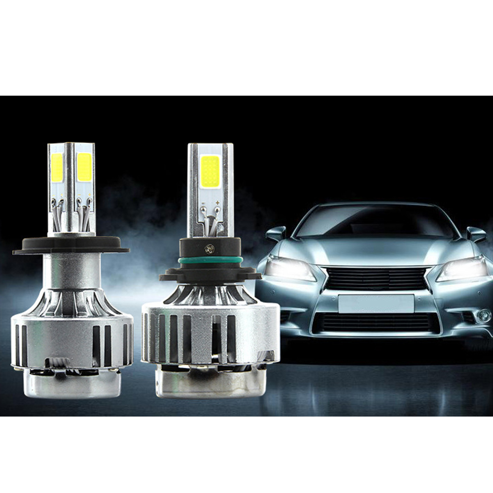 H7 LED Car Headlight Bulbs 6000LM Head Lamp Plug&Play Kit Auto Replacement Parts (H8 H9 H11)