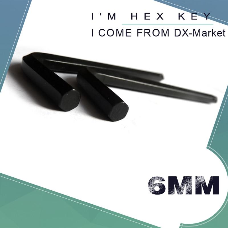 6 mm-es hatszögletű kulcs, 20 db, fekete metrikus allen - Kézi szerszámok - Fénykép 1