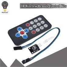 1 лот инфракрасный ИК беспроводной пульт дистанционного управления Модуль наборы DIY Kit HX1838 для Arduino Raspberry Pi