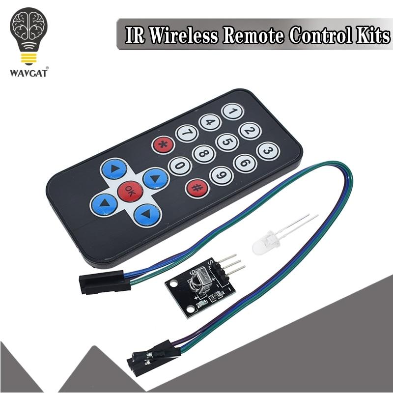 diy kit hx1838 připojení - 1LOT Infrared IR Wireless Remote Control Module Kits DIY Kit HX1838 For Arduino Raspberry Pi