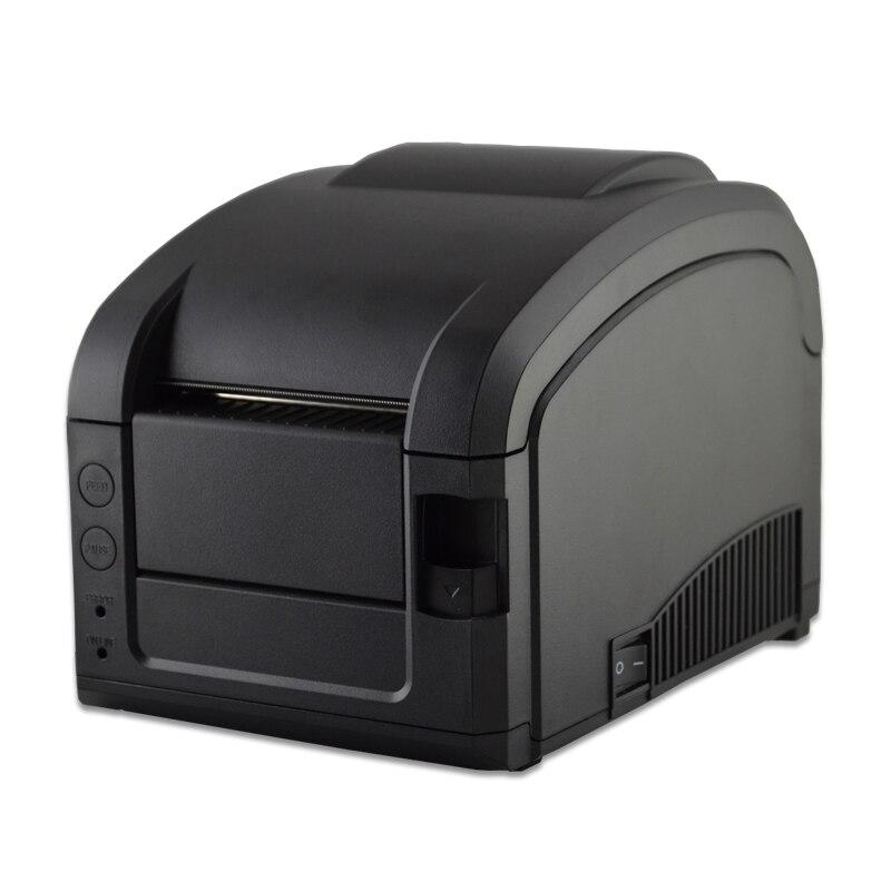 ФОТО black usb port GP-3120 Barcode Printer thermal barcode printer thermal label printer