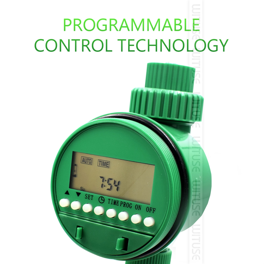 Image 4 - Garden Watering Timer Ball Valve Automatic Electronic Water Timer Home Garden Irrigation Timer Controller System-in Garden Water Timers from Home & Garden