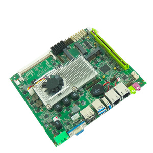 Image 4 - 저렴한 미니 메인 보드 지원 인텔 코어 i3 i5 i7 프로세서 임베디드 산업용 마더 보드 4xSATA XP/Win7/Win10 마더 보드