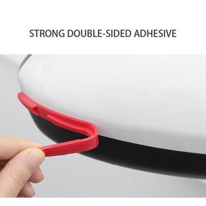 Image 5 - Car Door Edge Guard Scratch Strip Protector Rubber Sticker Auto Rearview Mirror Front Rear Bumper Protection Film Universal Trim