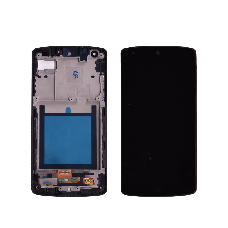 Original Lcd For LG Google Nexus 5 D820 D821 LCD Display With Touch Screen And Frame Digitizer Assembly Free Shipping