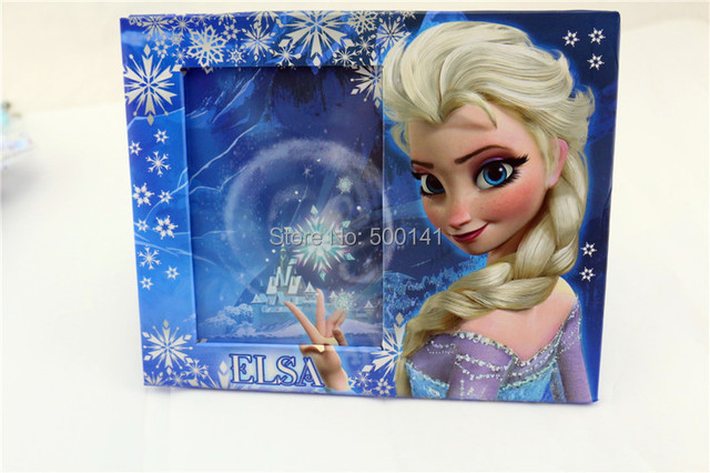 10pcs/lot frozen frames cartoon Paper Photo desk Frame frozen ...