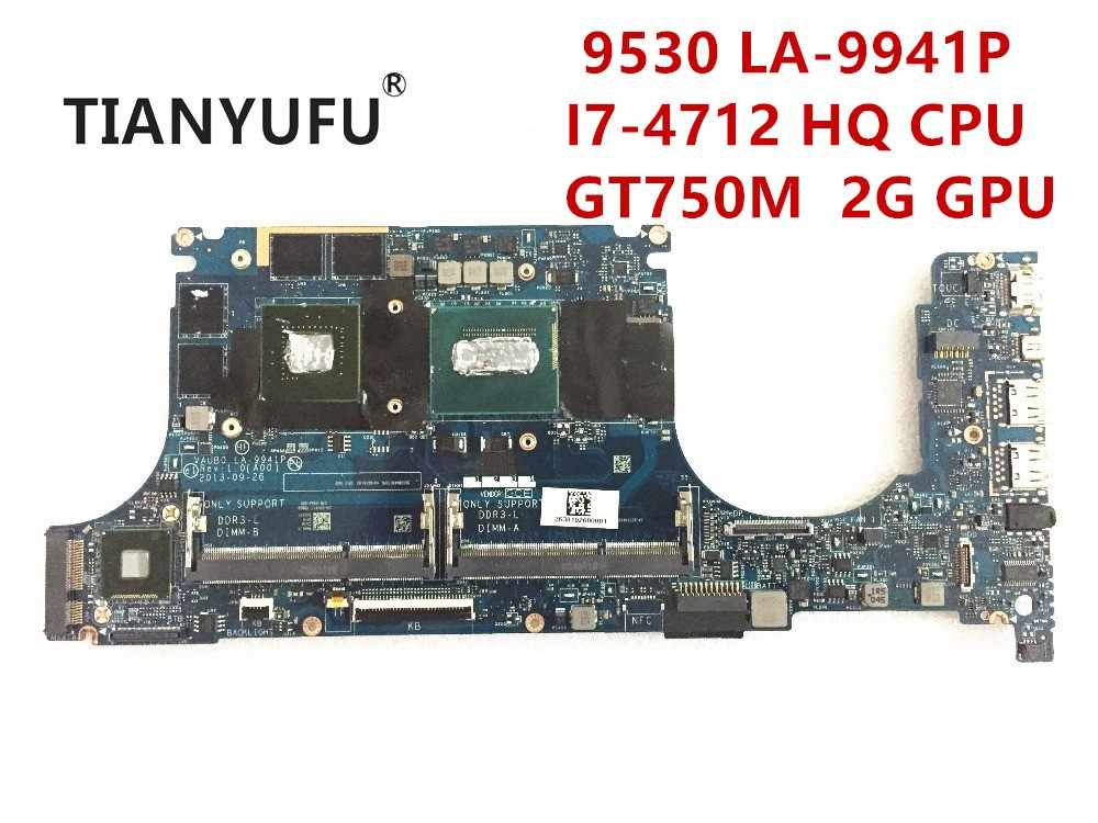 Detail Feedback Questions about VAUB0 LA 9941P FOR Dell XPS