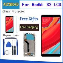 ل شاومي Redmi S2 شاشة LCD مجموعة المحولات الرقمية لشاشة تعمل بلمس استبدال ل شاومي Redmi S2 LCD شاشة 5.99 بوصة + أدوات