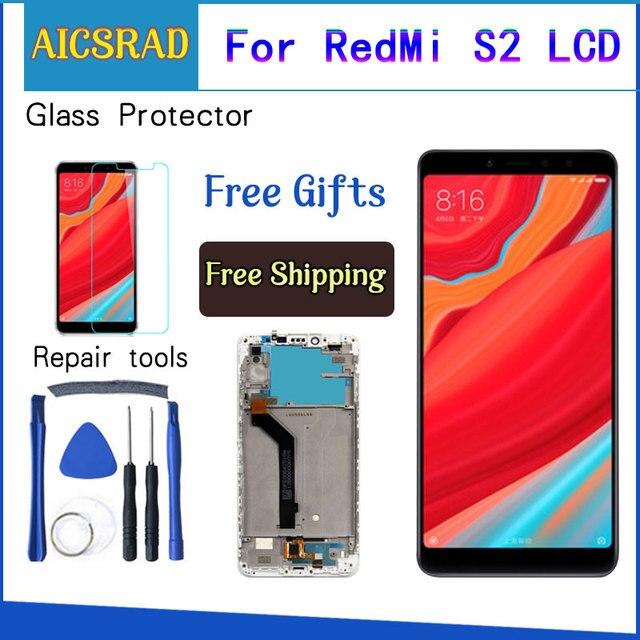 עבור Xiaomi Redmi S2 LCD מסך + מסך מגע Digitizer עצרת החלפת לxiaomi Redmi S2 LCD מסך 5.99 אינץ + כלים
