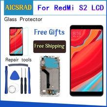 Xiaomi Redmi için S2 LCD Ekran + dokunmatik ekranlı sayısallaştırıcı grup Değiştirme Xiaomi Redmi için S2 LCD Ekran 5.99 inç + Araçları