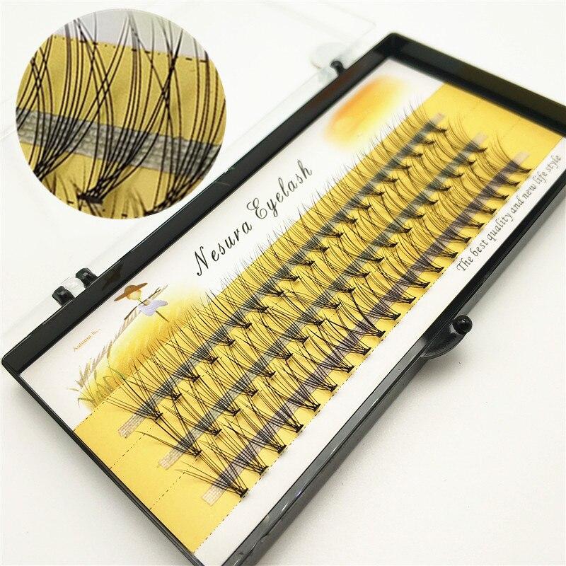 60 Pieces Of 10D Natural Eyelash Extension Makeup, Individual Eyelashes, Handmade False Eyelashes Professional Graft Eyelashes