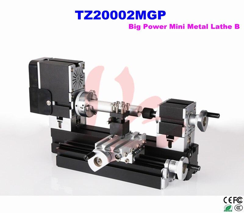 Russia only,no tax!! Big Power TZ20002MGP Mini Metal Lathe B  MINI lathe for wood working big big самосвал mini power worker mini kipper