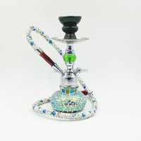 Gorgeous new pink broken glass hookah shisha hookah pipes sets free shipping