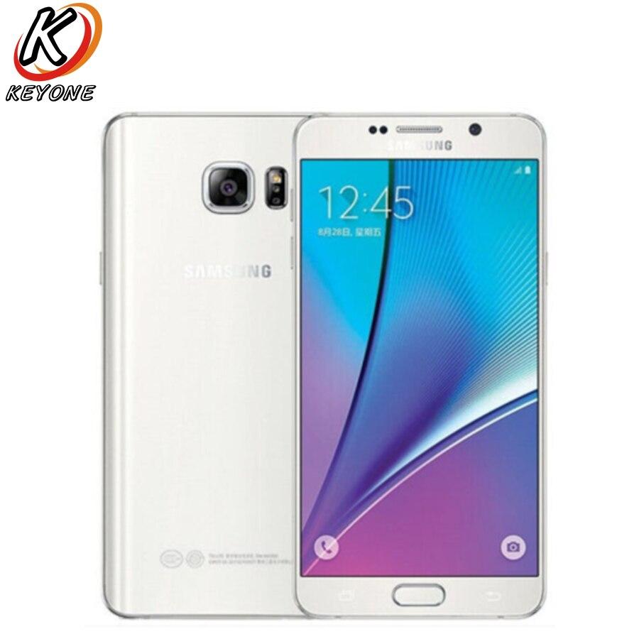 Original Samsung Galaxy note5 N9200 4G LTE Mobile Phone Note 5 Octa Core 16MP Camera RAM 4GB ROM 32GB 5.7 Smart Phone