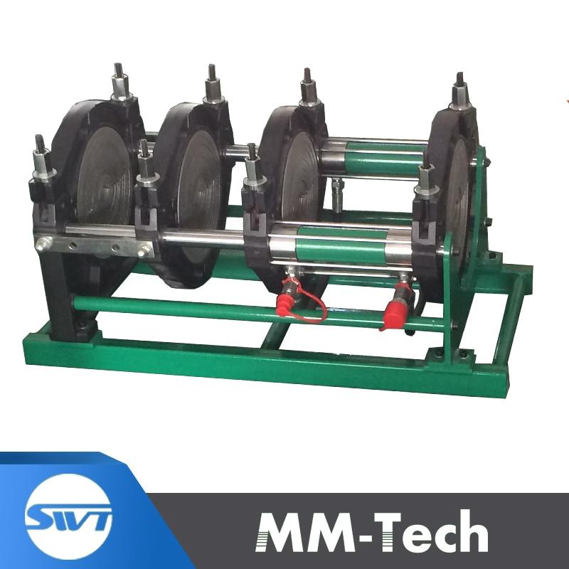 MACHINE de soudage bout à bout de tuyau de HDPE de SWT-B160/63 H