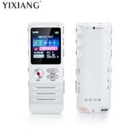 YIXIANG Digital Voice Activated Recorder Doppel Mikrofon HD Aufnahme 8 GB Speicher Noise Cancelling Premium Diktiergerät