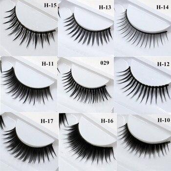 1 Pair False Mink 3D Eyelashes Natural Eyelash Extensions Cruelty Free Mink Lashes Eye Makeup Tools