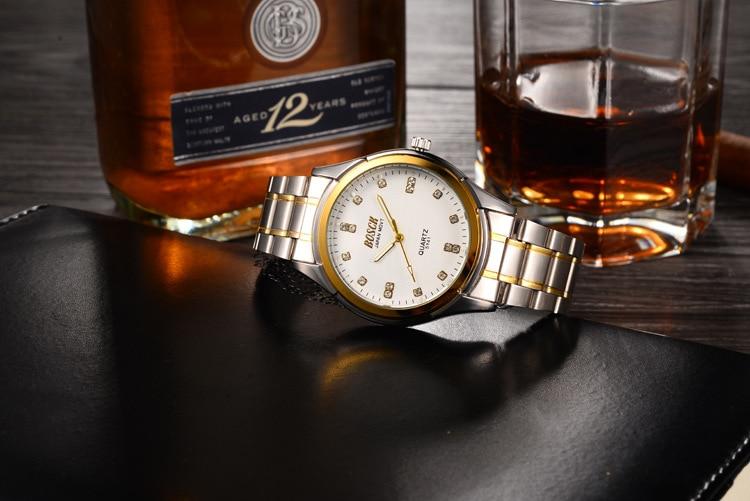 2018 watch men New High quality brand men watches Stainless Steel Sport Quartz Hour Wrist Analog Watch relogio masculino