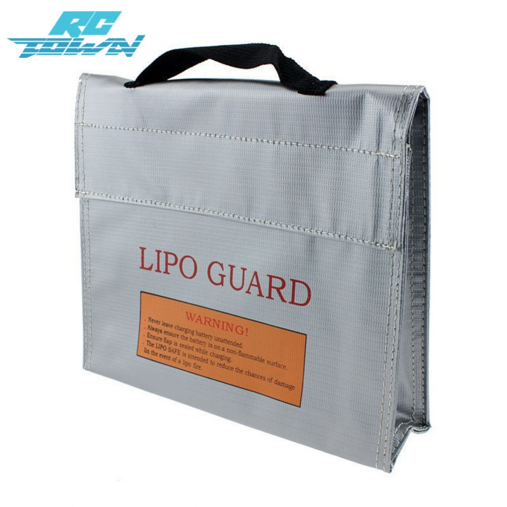 RCtown Explosion-Proof Lipo Battery Safe Guard Bag Protective Battery Charging Bag zk5