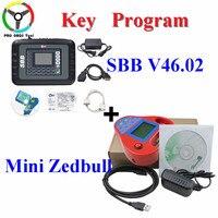 Silca SBB Ostatnia V46.02 + Inteligentne Mini Zedbull Auto key Programmer Nie Token Ograniczona Jako CK100 46.02 Lepiej Niż SBB V33.02 Klucz ekspres